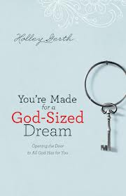you're made for a god-sized dream cover