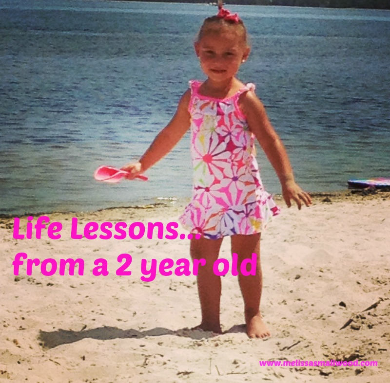 Wisdom from a toddler?
