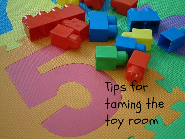 5 Tips for Taming the Playroom